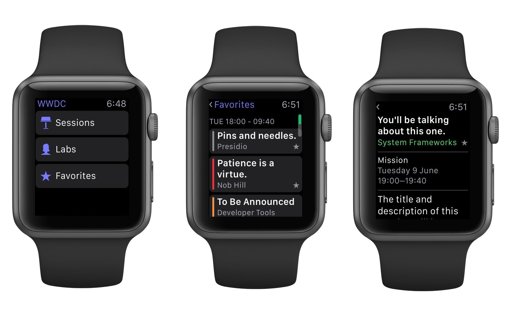 Watches Wwdc